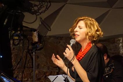 Sole Giménez al concert amb OJO