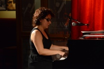 La pianista Miriam Aparicio (Sister Marion) és la presidenta de la Societat de Blues de Barcelona